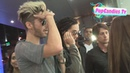 Bill Kaulitz Tom Kaulitz of Tokio Hotel greet Paparazzi at Bootsy Bellows in LA