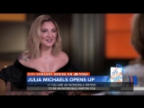 @juliamichaels talked with @HodaKotb about her journey to becoming a songwriter JuliaMichaelsTODAY