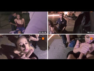 Girlsunderarrest whitney wright and gia derza delinquent sisters (cops arresting sex crime public)