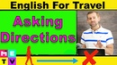 Asking for Directions in English 😬😬😬 | Are you Afraid??