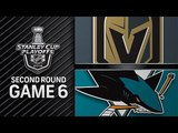 San Jose Sharks vs Vegas Golden Knights May. 07, 2018 I Game 6 Stanley Cup 2018. Обзор