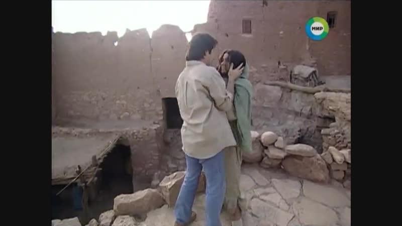 Жади и Лукас в развалинах в его воспоминаниях (Клон 33 серия)