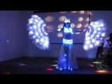 Заказать восточный танец живота на праздник, свадьбу, корпоратив в Москве - световой костюм