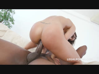 Legal ASS Kristy Black Double Anal Session Deep anal, DAP, Big Gapes