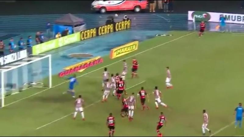 Фантастический выстрел из Чемпионата Бразилии