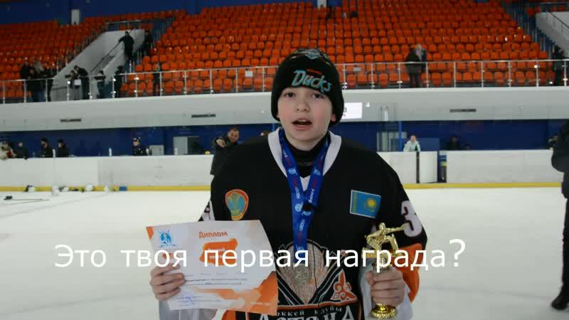 Лучший вратарь ЧРК среди ДЮСШ-2009 Артемий Пермяков