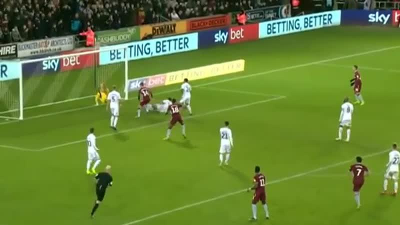 Swansea City vs Aston Villa 0-1