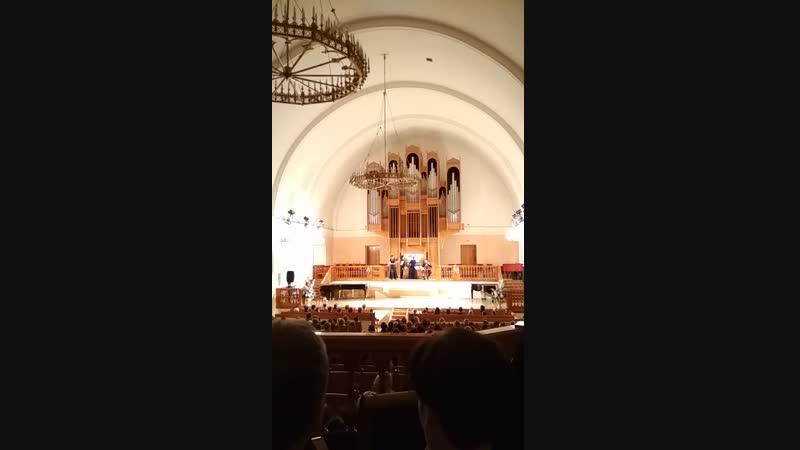 Кирха, 8 декабря 2018 г. Вивальди. Бетховен.