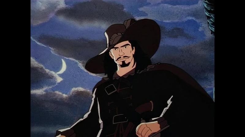 Чёрный пират Человек в чёрном 1 серия