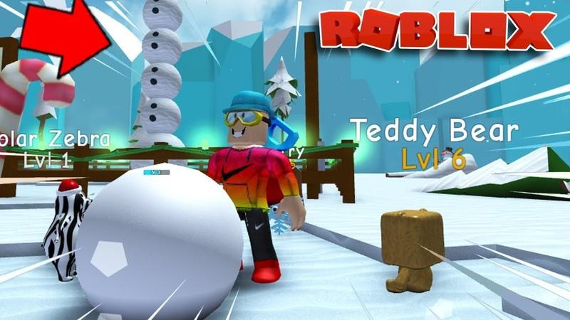 НОВЫЙ СИМУЛЯТОР СНЕГОВИКА ROBLOX NEW! Snowman Simulator КУЛ ГЕЙМС