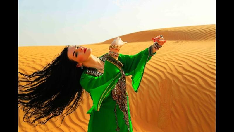 Kateryna Siham. Khaleeji dance in UAE desert. Сихам. Халиджи в пустыне ОАЭ