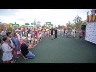 Вокально-танцевальный фестиваль в Соснах