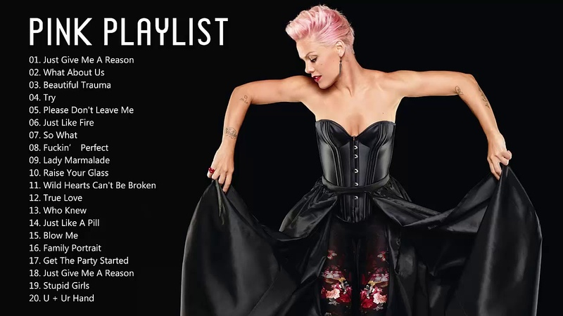 Pink Greatest Hits - The Best of Pink Songs - Pink Top Best Hits