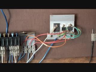 Как выбрать инвертор, как сделать молниезащиту автономной солнечной электростанции