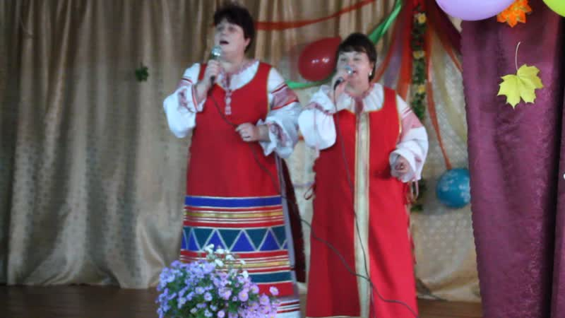 дуэт Сударушки д. Горное Ольга Сафонова и Наталья Елисеева
