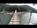 Катуха. Псебай. День 2. Никитинский мост через реку 2018/09/09