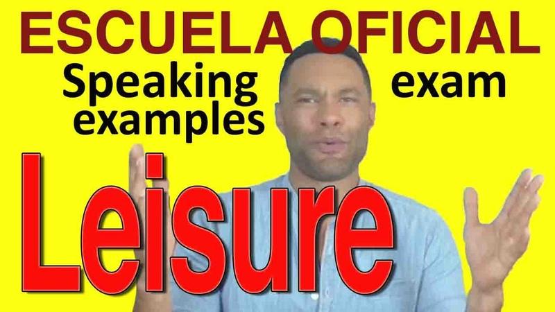 SAMPLE ENGLISH SPEAKING TEST Leisure time