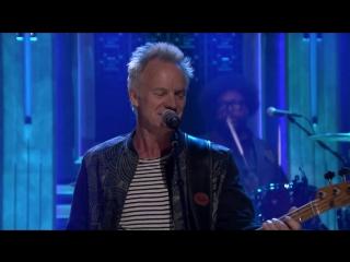 Sting  Shaggy_ Dont Make Me Wait 23 04 2018  телешоу Джимми Фэллона в Нью-Йорке, США.