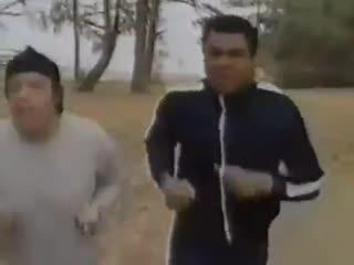 Мухаммед Али о беге