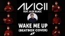 AVICII Feat Aloe Blacc Wake Me Up acapella cover by Yan Weinstock