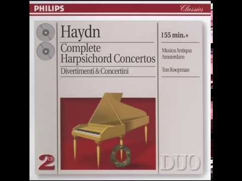 Haydn - Concert For Harpsichord And Orchestra.1
