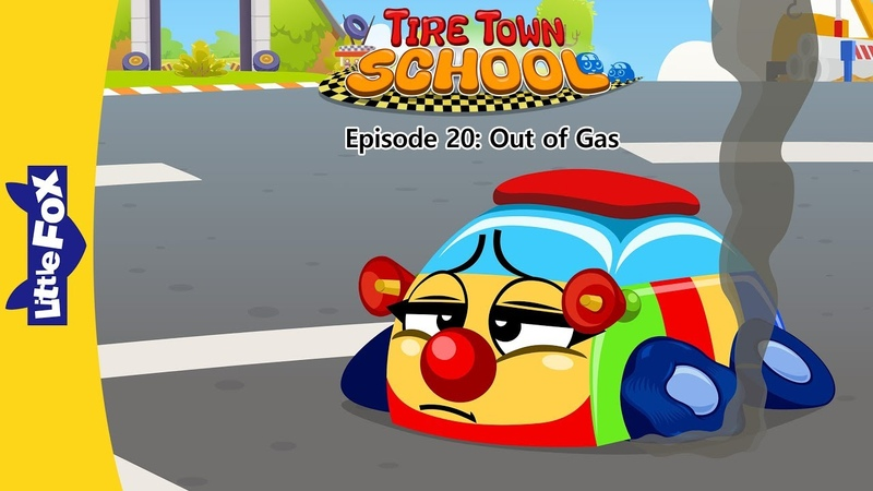 Tire Town School 20: Out of Gas | Level 1 | By Little Fox
