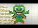Cómo Dibujar un Bebé Dragón de Clash Royale en 8-bit o Pixel ART! TUTORIAL PASO A PASO