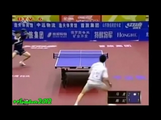 Ma Long (16 years old) vs Chen Qi (Chinese Super League 2005)