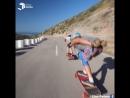 Девушки на скейтбордах - УЛЁТНО