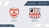 AFL18. France. Cup. 132. Nancy - Ajaccio