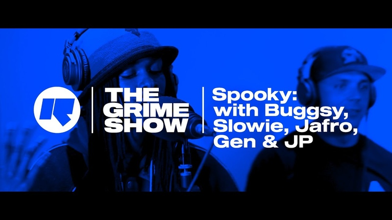 The Grime Show Spooky with Buggsy Slowie Jafro Gen JP