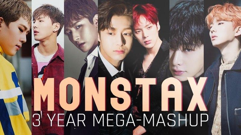 MONSTA X (몬스타엑스) 3 YEAR MEGA-MASHUP [9 Songs from 2015-2018]