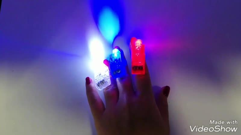 Фонарик на палец для капсулы 45 мм