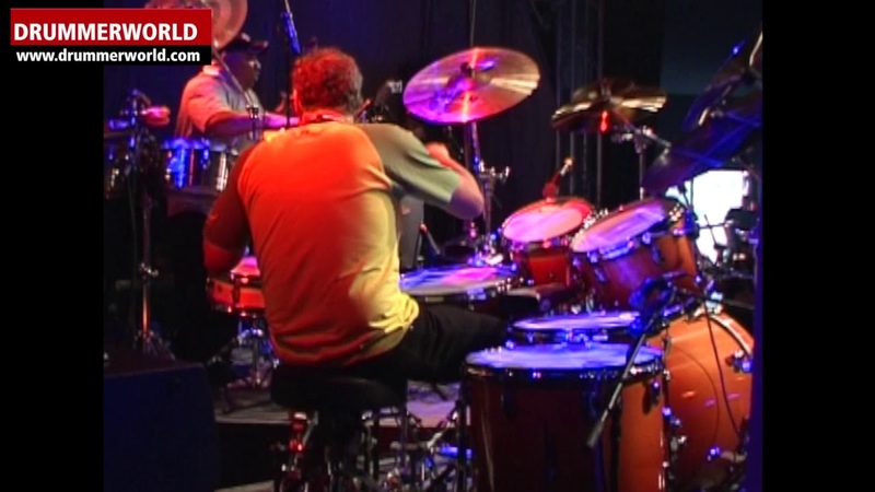 Latin Drum Fire: Robby Ameen - Richie Flores - MM Frankfurt