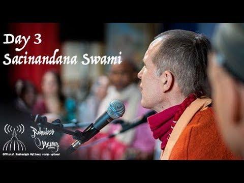 Radhadesh Mellows 2018 - Day 3, HH Sacinananda Swami