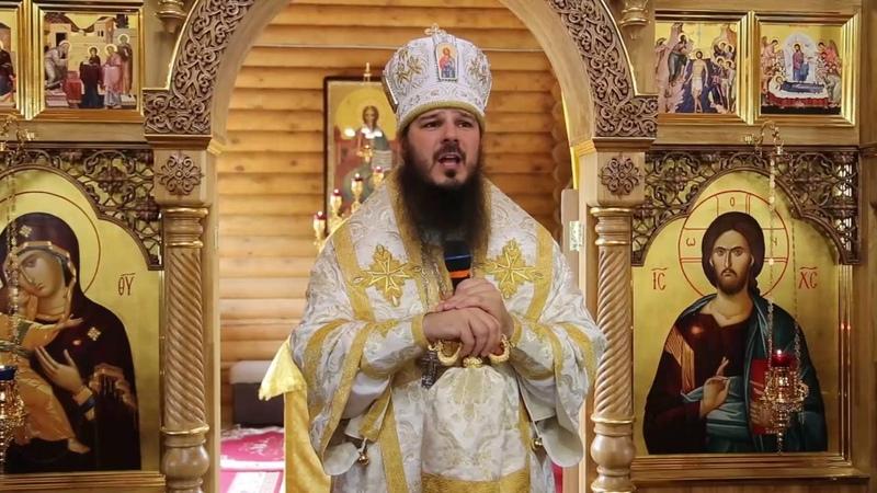 Литургия во Владимирском храме Кузнецка