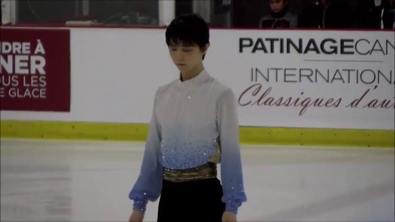 Yuzuru Hanyu - Autumn Classic 2017 SP with judges scores - World Record 112.72 - 羽生結弦