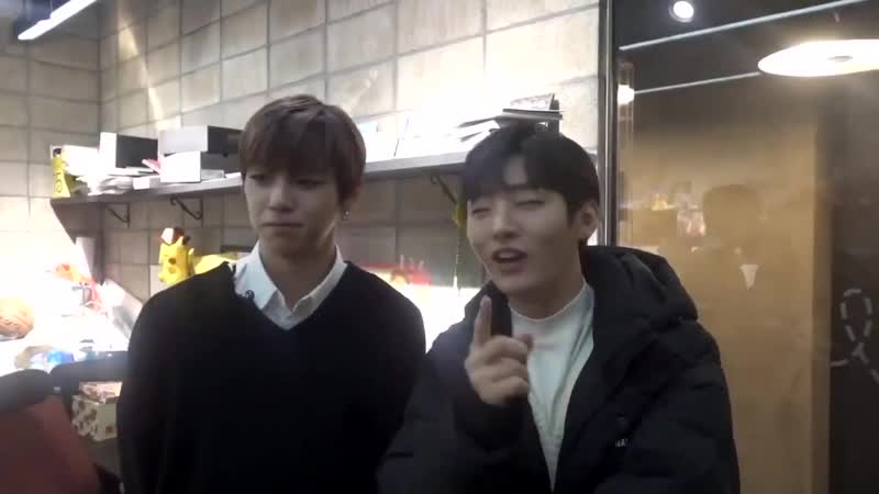 Nielsung appearing in Kang Minkyung's vlog
