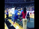 The Undertaker At The Harlem Globetrotters Game! 2