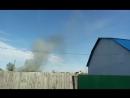 пожар у Комсомольского сквера