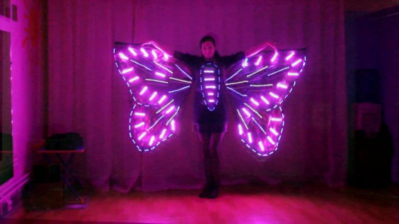 Бабочка - учимся летать