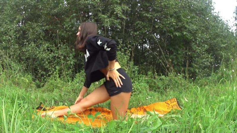 SLs Как сесть на продольный шпагат с пола