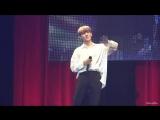 FANCAM 06.07.18 Chan - (Rebooting) @ UNB 1st concert in Japan
