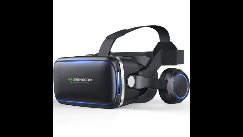 Шлем VR виртуальной реальности очки Shinecon 6,0