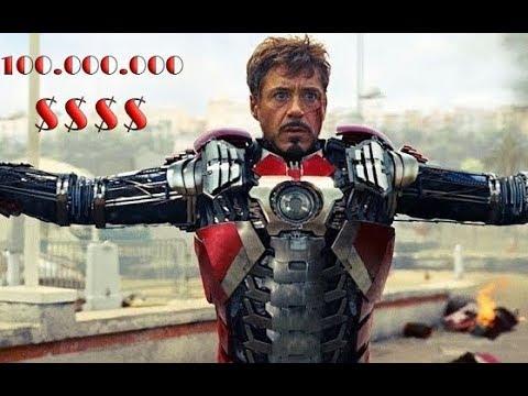Bộ giáp đáng giá 100 triệu dollar Iron Man sức mạnh khủng khiếp như thế nào