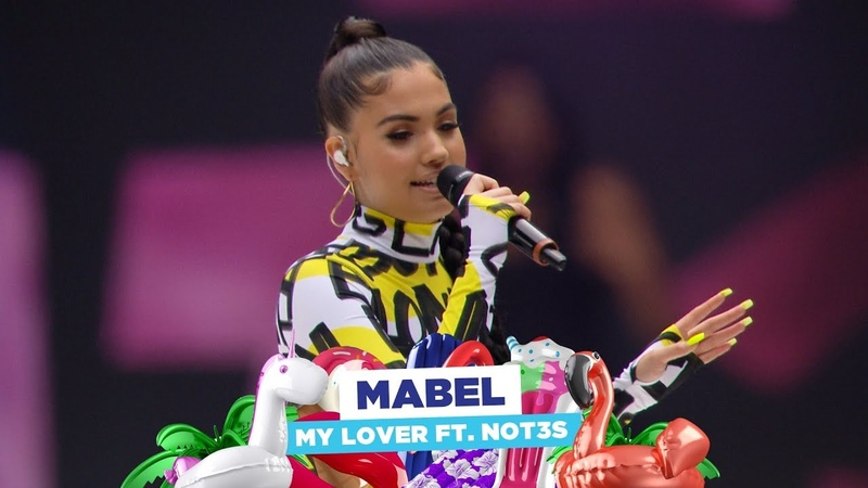 Mabel - 'My Lover feats NOT3s' (live at Capital's Summertime Ball 2018)