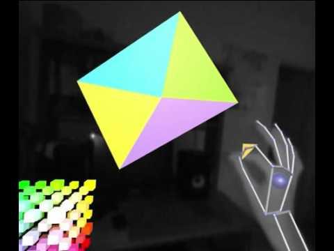 Triangulate (free Oculus Rift Leap Motion art program)