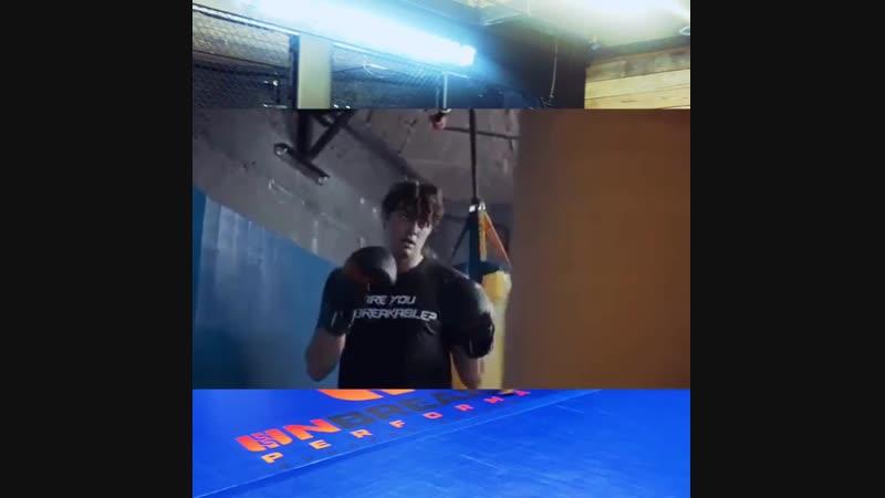 В фитнес-центре «Unbreakable» (19.10.2018)