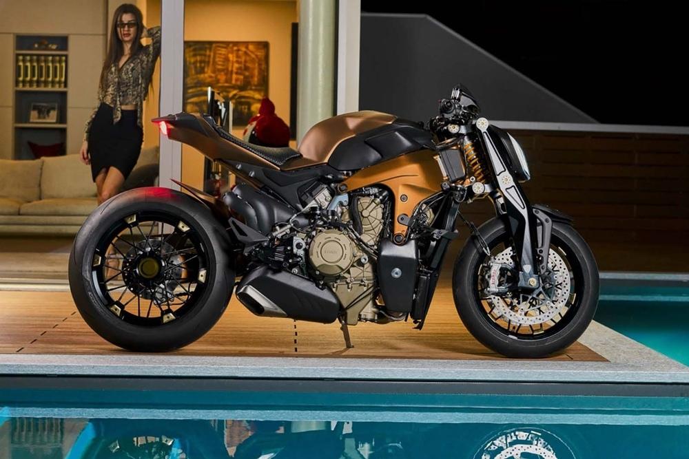 Officine GP Design: стритфатйер Ducati Penta V4