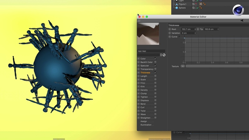 Tip - 198: How to use polygon objects with Hair including Dynamics